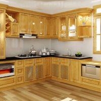 Tủ bếp gỗ Xoan Đào